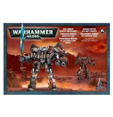 Games Workshop Warhammer 40000 40K Grey Knight Nemesis Dreadknight 57-09